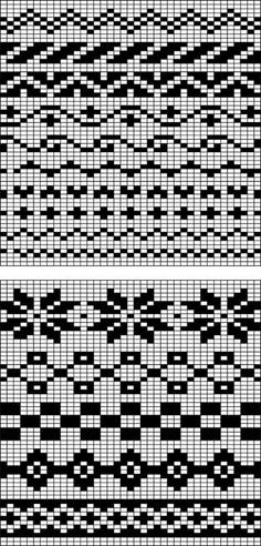 Fair Isle flower borders, knitting patterns - Google Search