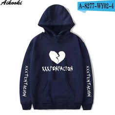 425e8de5d8f8d Aikooki 2018 New High Quality Men Hoodies Xxxtentacion Hoodies Men s  Sweatshirt Autumn Winter Cotton Man Woman Hooded Clothing