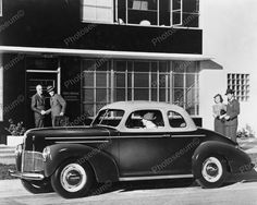 Antique Auto 1940 Studebaker Car 8x10 Reprint Of Old Photo - https://www.luxury.guugles.com/antique-auto-1940-studebaker-car-8x10-reprint-of-old-photo/