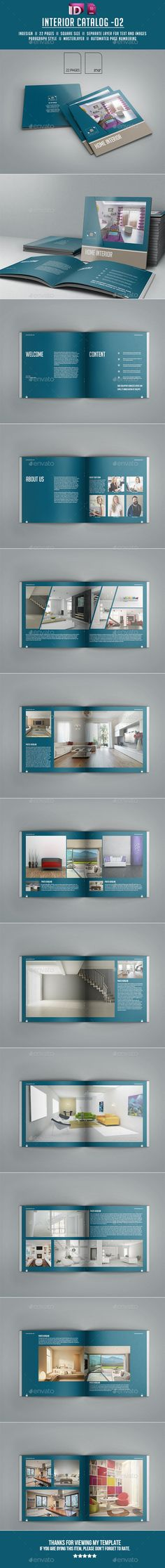 Interior Catalog Template #design Download: http://graphicriver.net/item/interior-catalog-02/11827117?ref=ksioks