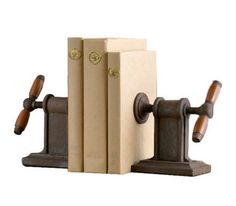 Vise Bookends, $69