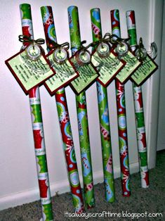 It's Always Craft Time: Neighbor Gift Idea. Tag reads: Since November you've been shopping, barely sleeping, hardly stopping. Now it's late you're in a scrape, out of paper, out of tape. Hope this wrap helps save the day! Have a happy Holiday! Have A Happy Holiday, Holiday Fun, Happy Holidays, Holiday Ideas, Xmas Gifts, Craft Gifts, Diy Gifts, Cool Christmas Gifts, Christmas Gifts For Teachers
