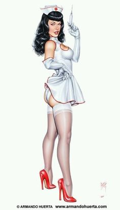 Soon to be my nurse pin up tattoo