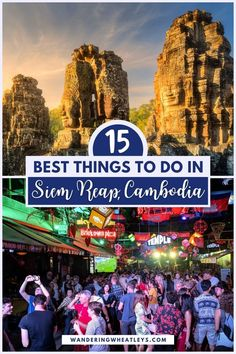 Planning a trip to Cambodia? Discover the 12 amazing things to do in Siem Reap, Cambodia including how to get there, where to stay, archeological sites like Angkor Wat, museums in Siem Reap, cafes, and more! I what to do in Siem Reap I places to go in Cambodia I Cambodia travel I things to do in Cambodia I places to visit in Cambodia I Cambodia attractions I what to do in Cambodia I Siem Reap travel tips I what to eat in Cambodia I Cambodia tips I where to eat in Siem Reap I #Cambodia… Myanmar Travel, Cambodia Travel, Vietnam Travel, Thailand Travel, Asia Travel, Japan Travel, Wanderlust Travel, Malaysia Travel, Singapore Travel