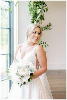 Emilie + Jake | A Garden Wedding at Pursell Farms - beckys brides Bride Bouquets, Garden Wedding, Wedding Designs, One Shoulder Wedding Dress, Wedding Planner, Bridal, Wedding Dresses, Inspiration, Fashion
