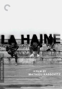 """La Haine --- A beautiful, thought provoking movie about """"a fateful day in the lives of alienated ghetto youths Vinz, Saïd and Hubert - a Jew, an Arab and an African, respectively - who are grappling with the aftermath of unexpected tragedy. When their friend Abdel lies comatose after a police beating, Vinz vows to dispense rough justice, sealing the destiny of all three [Source: Netflix].""""  This was my introduction to one of my favorite actors, Vincent Cassel."""