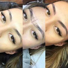 eyebrows almost for ever Mircoblading Eyebrows, Eyebrows Goals, Permanent Makeup Eyebrows, Eyebrow Makeup, Eyelashes, Makeup Tips, Beauty Makeup, Hair Makeup, Eyebrow Design