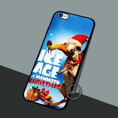 A Mammoth Christmas - iPhone 7 6 5 SE Cases & Covers #cartoon #IceAge