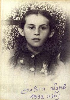 Trzebinia, Poland, The girl Sheindale Hirshberg, who was born in 1932 and perished in the Holocaust.
