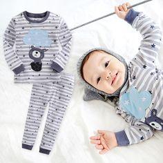 "Vaenait Baby Toddler Kids Boys Girls Clothes Pajamas Set ""The Bear Set"" Boy Or Girl, Baby Boy, Cotton Pjs, Boys Sleepwear, Boys And Girls Clothes, Kids Pajamas, Baby & Toddler Clothing, Kids Boys, Pajama Set"