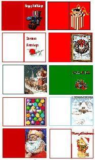 Christmas Mini Printables - LUNALUNERA (Mamen) - Picasa Web Albums