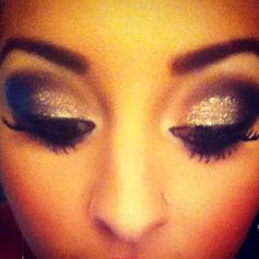 My winter formal makeup! Sorry the quality is so bad!