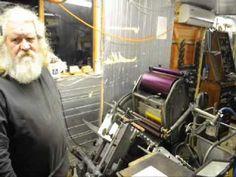Letterpress 4 colour process printing pt2