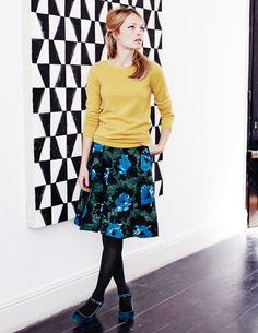 Sophia Skirt - love the color combos of this skirt