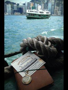TRAVELER'S notebook  - MIDORI. 5th anniversary Star Ferry edition