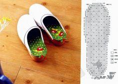 Plantillas para zapatos de crochet patron