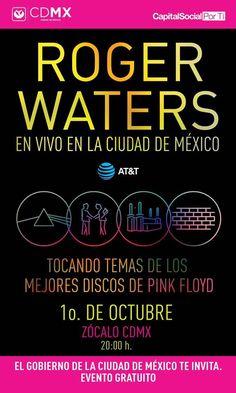 Roger Waters se presentará en el Zócalo de la CDMX... |