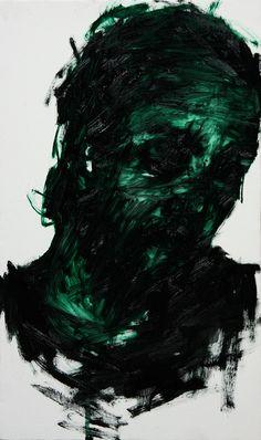 [61] untitled oil on canvas  45.5 x 27 cm 2013 by KwangHo Shin, via Behance