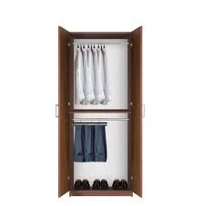 if you have many hanging clothes then the bella double hanging wardrobe is an excellent choice this premium quality wardrobe storage cabinet is as sturdy