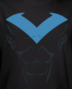 DC Comics t-shirt with Nightwing Costume.