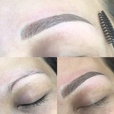 M I C R O B L A D I N G What is microblading? Microblading is s semi- permanent procedure (lasting up to 18 months) using a pen like blade that etches one mm beneath the skin form hairlike strokes. This will fill in reshape and strengthen the contour or the brow so needing less pencilling tweezing or coloring in. Pain? Very slightly.... about that of waxing. If your eyebrows are uneven nonexistent or can barely be seen... this service is for you. Call 203-520-0310 to make an appointment @ato