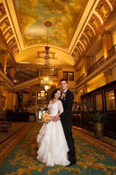 Pfister Hotel wedding photo