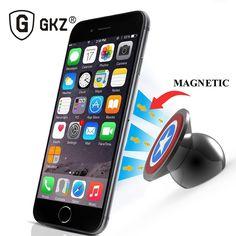 GKZ B1 Autotelefonhalter UF-A 360 Grad Magnetische Telefon Auto Mount Kit Halter für iPhone 6 5 Samsung S4 S5 MagneticPhone Holdert