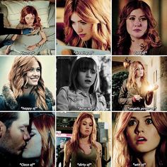 Shadowhunters — Clary Fairchild