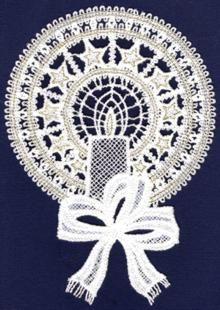 Advanced Embroidery Designs. Free-Standing LaceOrnaments. Free designs.