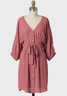 Demure Darling Shirt Dress | Modern Vintage Dresses