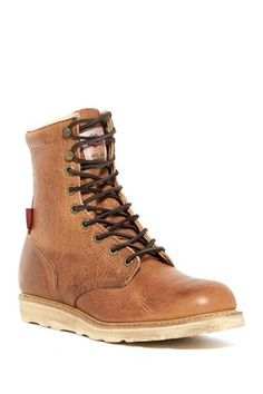 Hi  Lace-Up  Boot