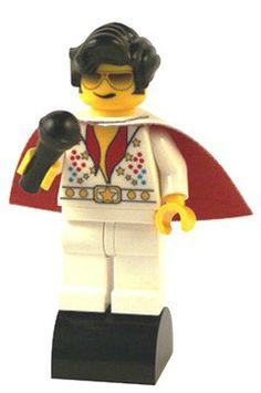 Elvis custom LEGO minifigure