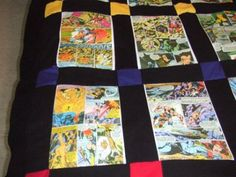 X-Men Quilt ohhhh i will have to get someone to make this!! love it.