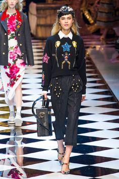 Dolce & Gabbana at Milan Fashion Week Fall 2016