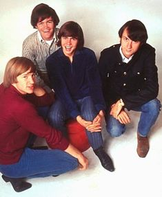 The Monkees. Peter Tork, Micky Dolenz, Mike Nesmith, and Davy Jones. Am sad for the recent sudden loss of Davy Jones, but am glad for the laughter and music they brought into my youth. Always funny, giving, and caring about their fans. Impressive that during their time they sold more records one year than the Beatles and Rolling Stones combined (in their most popular times too). They were the guys to know... or most wanted to know.  Me too.