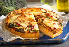"""A clever vegetable """"pie"""" that's perfect for cold nights - with leftovers for lunch the next day."""