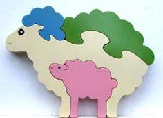 Jigzoos pastel sheep