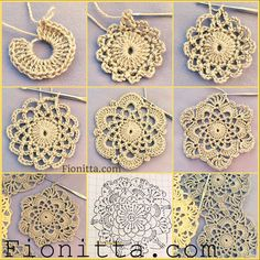 Irina: Crochet Motif by Fionitta.