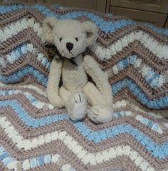 Baby crochet blanket afghan