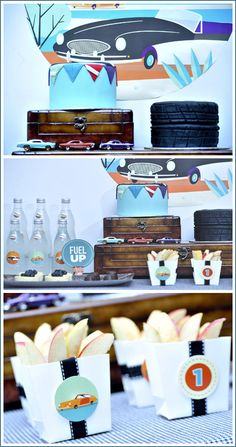 vintage car party~Great theme