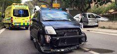 Schwerer Verkehrsunfall in Andratx auf Mallorca