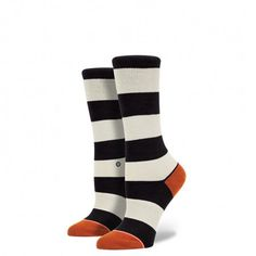 What's black and white and rad all over? A sock as classic as it is brand new. The Drexler sock delivers crisp black stripes that are both quietly fresh and decidedly bold. Cradle feet in luxury with a deep heel pocket and buttery soft combed cotton, our signature combination for an especially smooth ride. It's no wonder some things never go out of style $10
