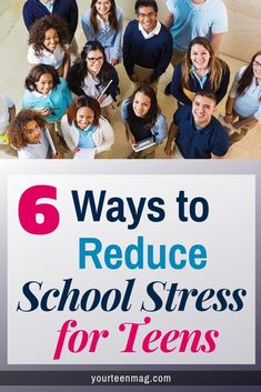 High school is a stressful time for teens. Here are 6 tips to help your teen reduce stress while in school. Natural Parenting, Parenting Teens, Parenting Advice, Student Stress, School Stress, All About Mom, Ways To Reduce Stress, Raising Teenagers, Thing 1