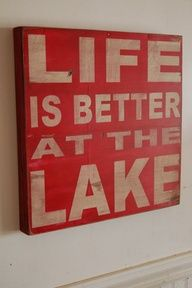 Life is Better--our only vacations as a child--hard to leave the farm for long but we could spend weekends at the Lake of the Ozarks swimming and skiing!