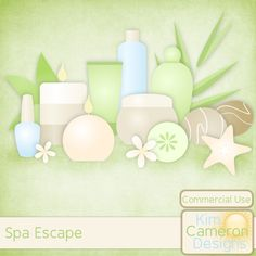 Pamper yourself with these fun spa templates. Includes a PSD and separate PNG layers for 4 facial bottles, 2 candles, cucumber slice, flower, 2 hot rocks, 2 leaves, nail polish and starfish. Commercial use ok!
