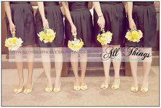 Wedding Shoes and Bouquets
