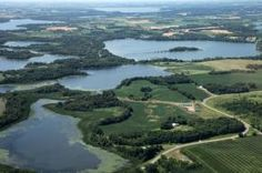 Aerial View of Alexandria, MN . . .What a wonderful place to be from!