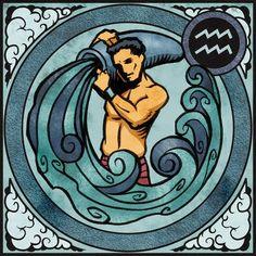 Aquarius the Water-bearer ♒