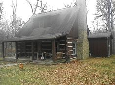 Brown County is known for its log cabins and there always seem to be some for sale..