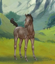 Knapstrupper csikó Moose Art, Horses, Painting, Animals, Animales, Animaux, Painting Art, Paintings, Animal